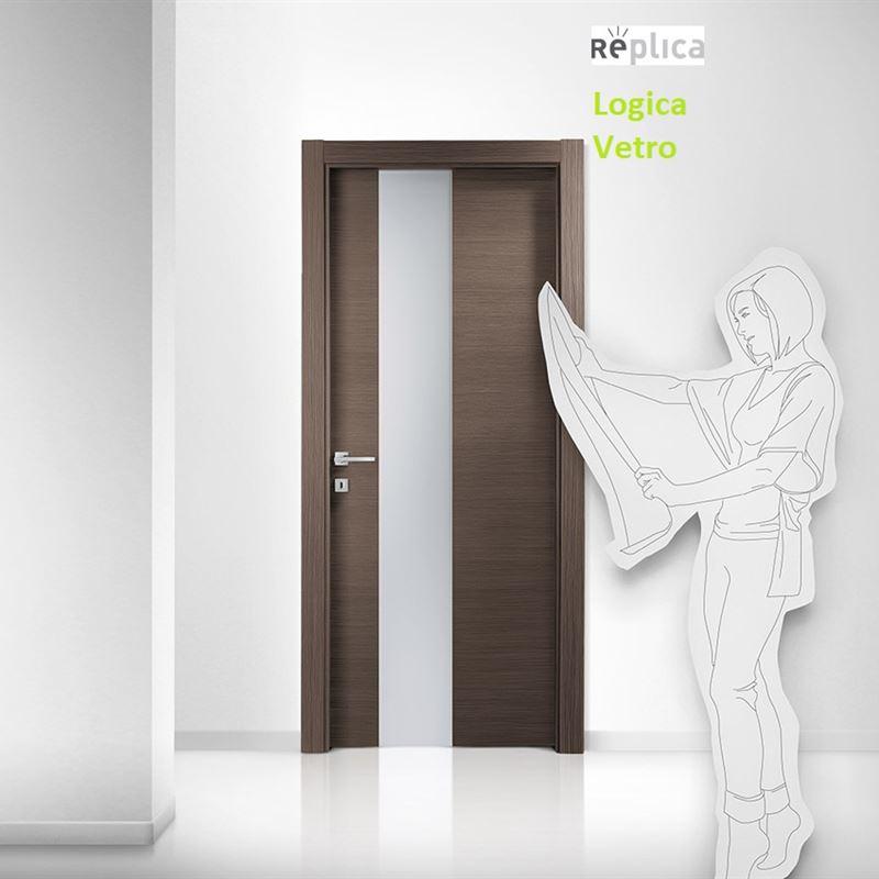 Catalogo porte da interno: porte a battente ferrero legno a Roma