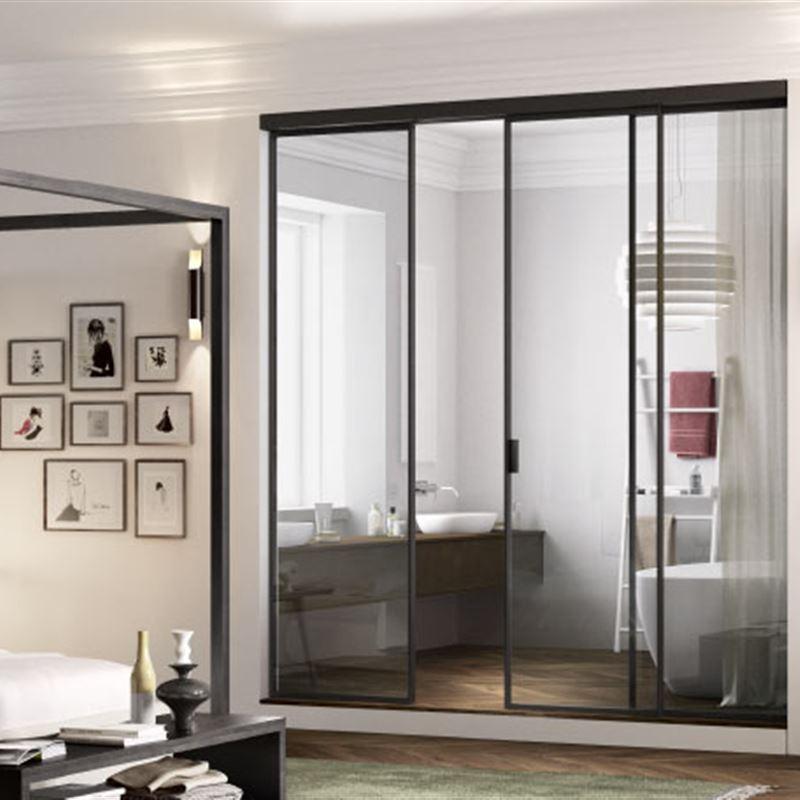 Catalogo porte da interno: porte scorrevoli in vetro ferrero legno a ...